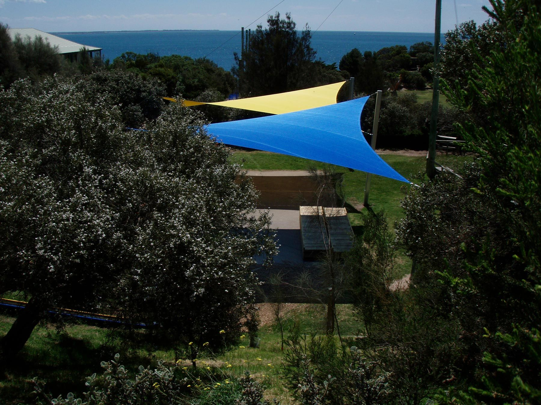 portsea school shade sails