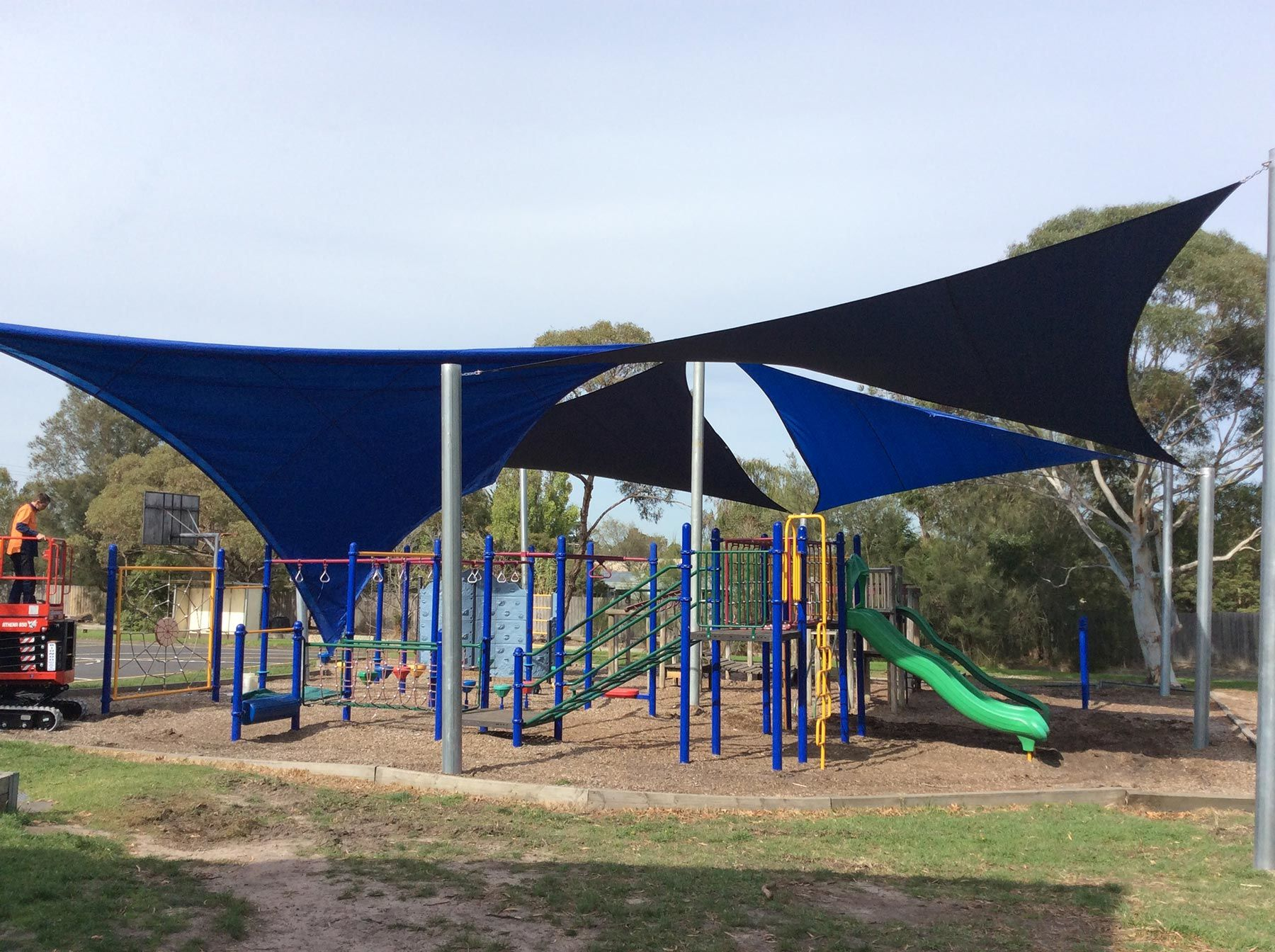 school shade sail installation melbourne